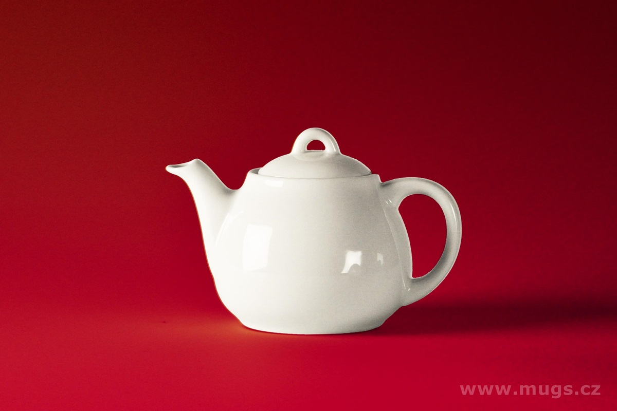 ROSA Small Teapot bianco 550 ml