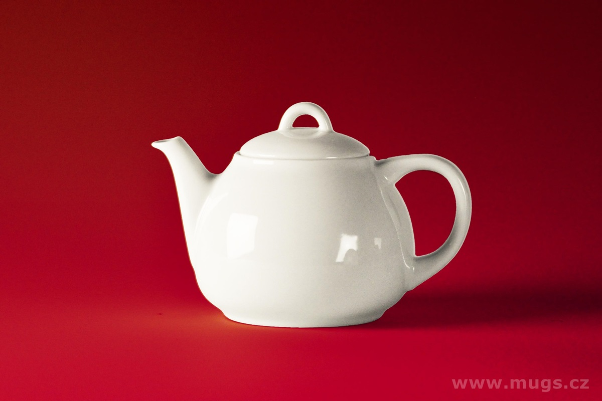 ROSA Large Teapot bianco 750 ml